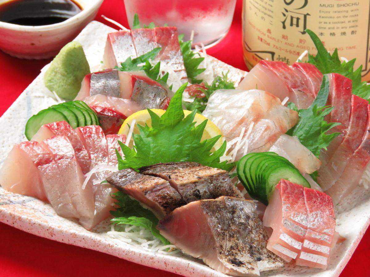 什錦生魚片拼盤