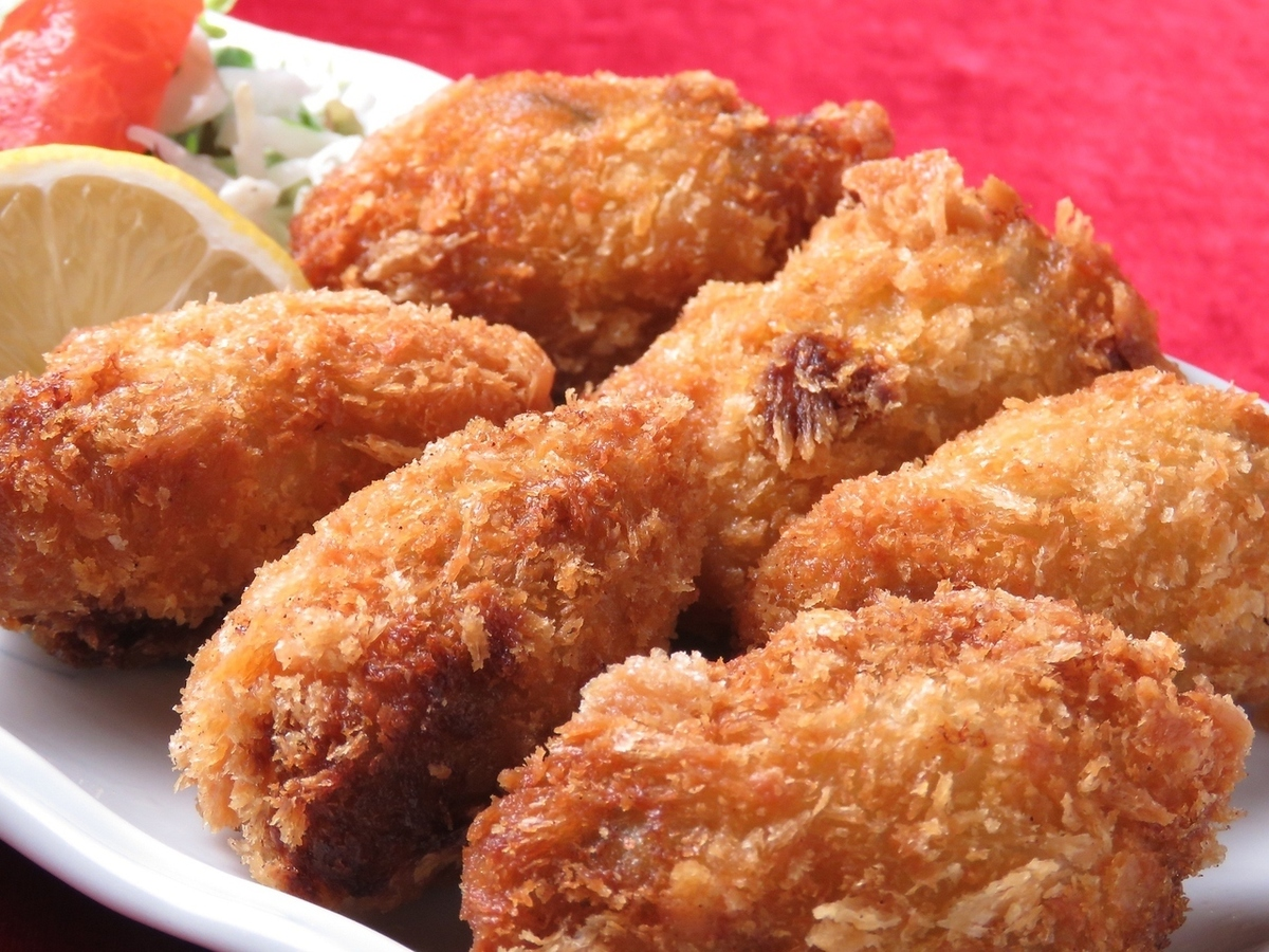 Deep fried oysters