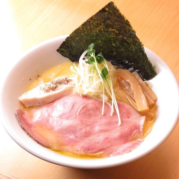 一番人気! 鶏白湯ラーメン(塩・醤油)