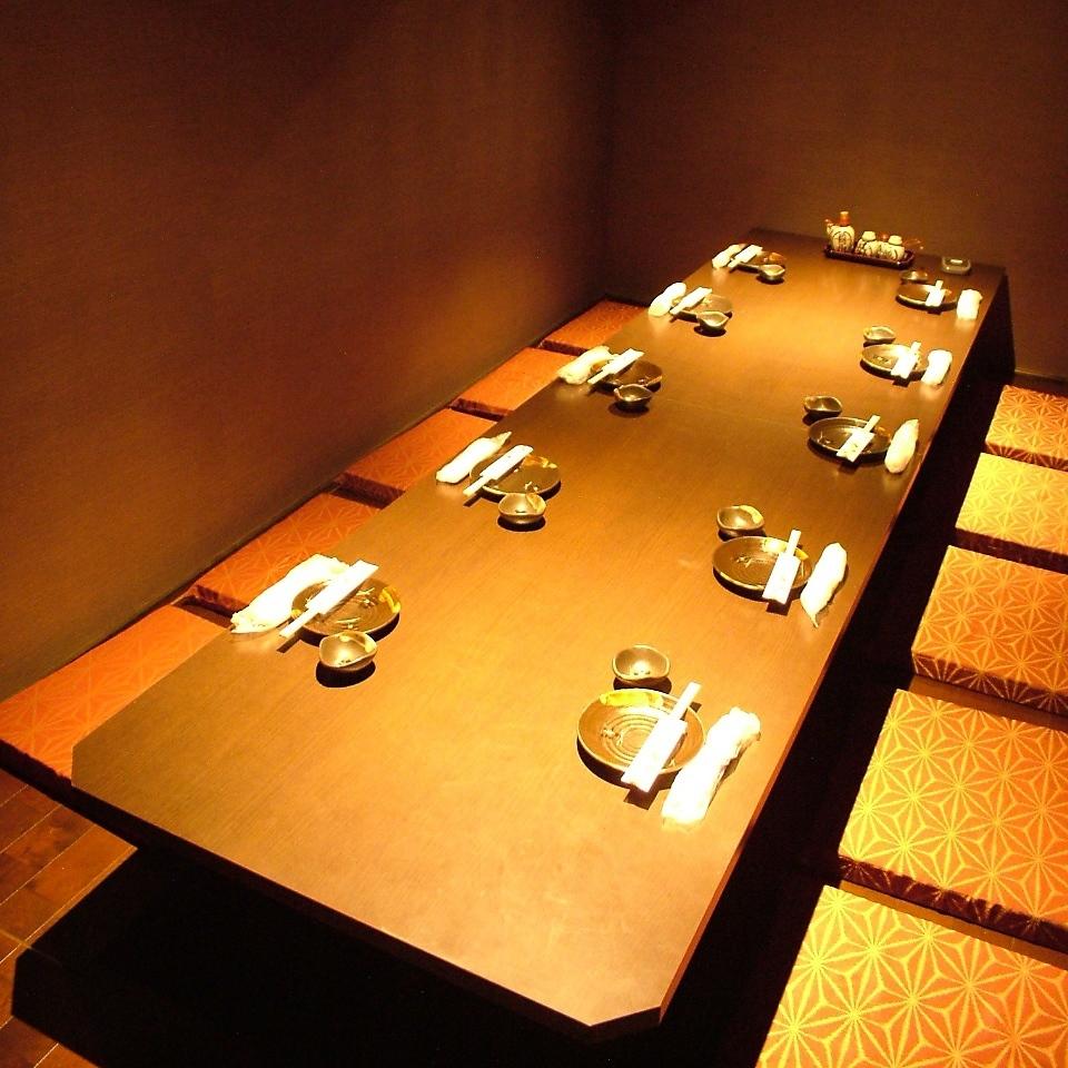 【10人私人房間】一定要進入私人房間,即使是10人的公司宴會等。還有一個私人房間可供招待客人。那些在公司擔任宴會秘書的人必須看到♪