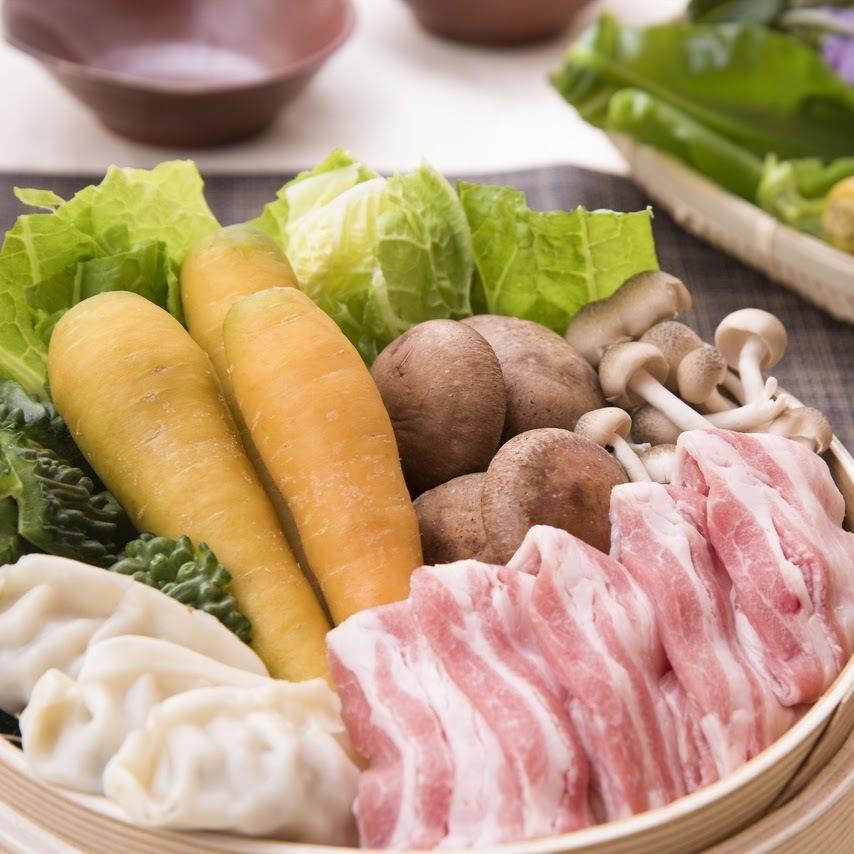 Ah-hu Island vegetable roast steamed