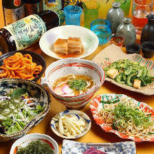 Enjoy traditional Ryukyu with all you can eat
