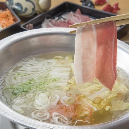 【Bonenkai / 2 hours all you can eat】 Awoo Pork Shabu Shabu + Okinawa cuisine (over 70 items in all stores)