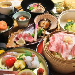 [仅烹饪]适合重要的晚餐和娱乐活动。享受美味佳肴【最高课程】6000→5500日元
