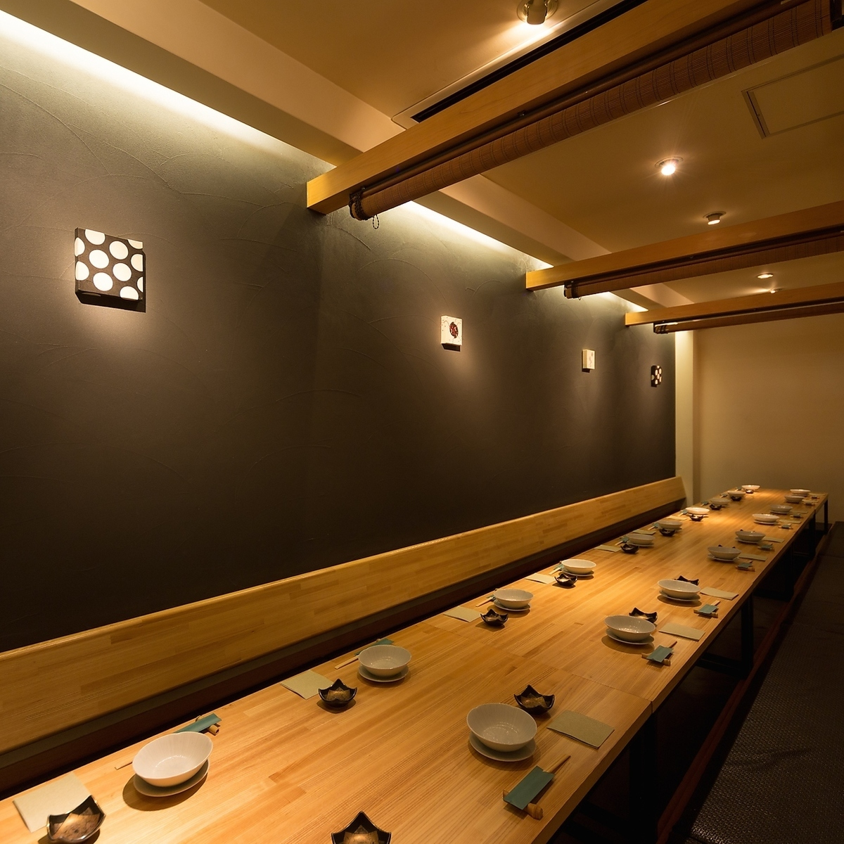 Please have a company banquet at Asami.Private room for up to 20 people