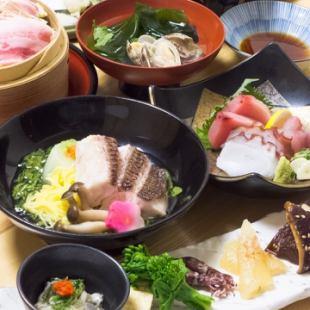 [仅烹饪]我们的课程很受欢迎。推荐用于娱乐和公司宴会【浅间豪华套餐】4500→4000日元