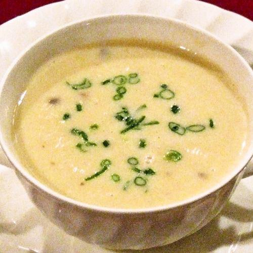 チキンマッシュルームスープ Chicken Mushroom Soup