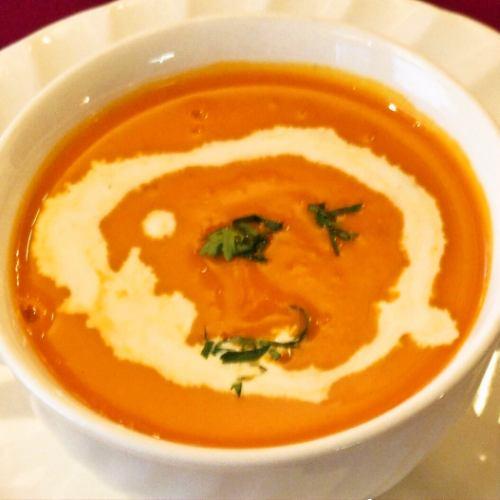 パンプキンスープ Pumpkin Soup