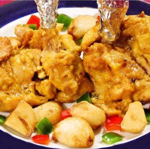 ガーリックチキン Garlic Chicken