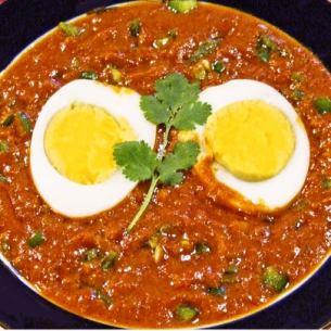 エッグマサラ Egg Masala