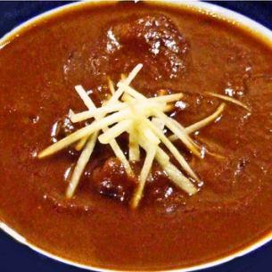 ヒマラヤマトンカレー Himalaya Mutton curry