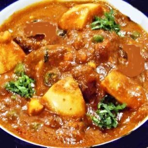 マトンシャヒマサラ Mutton Shahi Masala