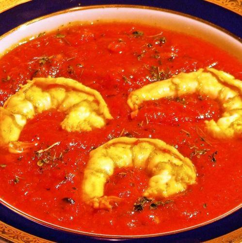 エビとトマトのカレー Prawn & Tomato Curry