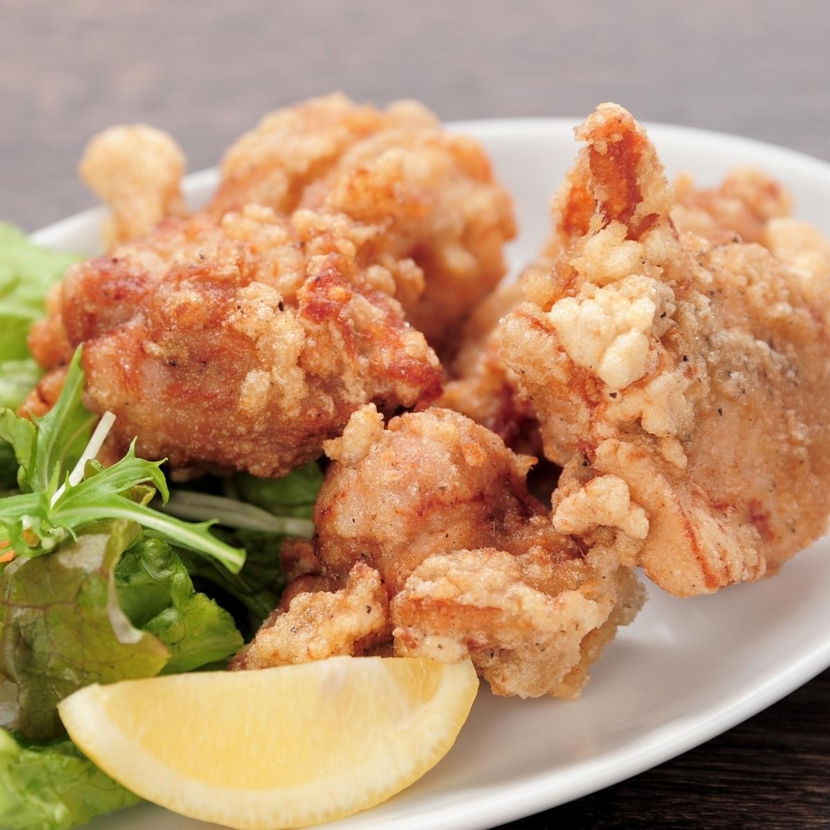 닭 튀김 수준 (5 개) / 고객 得特盛 (8 개)